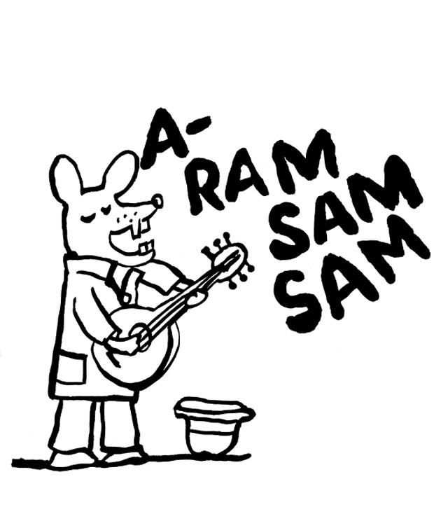 Aram Sam Sam Text